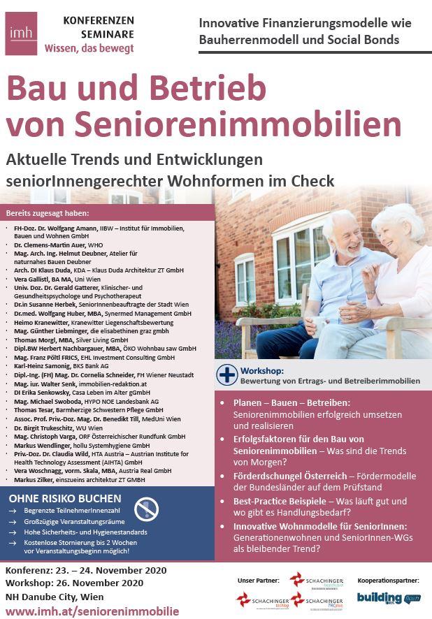 Bau und Betrieb von Seniorenimmobilien