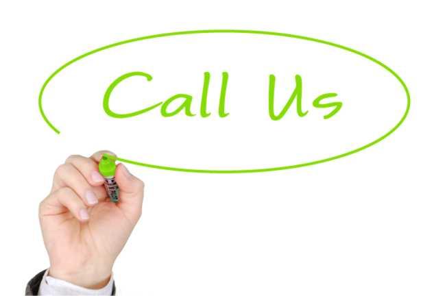 Wir wollen mit Ihnen reden.