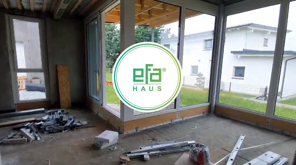 Das nächste efa-Haus entsteht